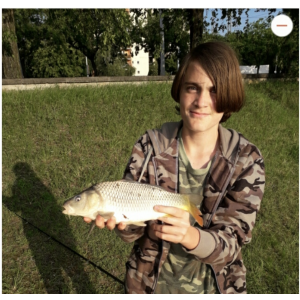Első pergett halam a Dunából 2